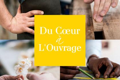 Affiche Du Coeur à l'Ouvrage - Fondation EY