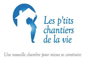 Logo Les p'tits chantiers de la vie - Fondation EY