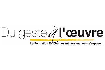 Logo Du Geste à l'Oeuvre - Fondation EY