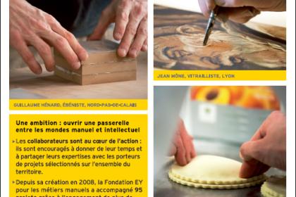 La Fondation EY pour les métiers manuels s'expose en région